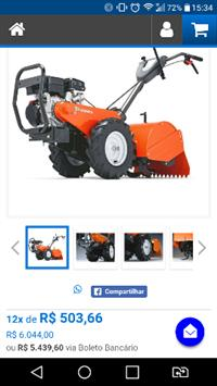 Trator Tobata Mini/Micro 4x2 ano 15