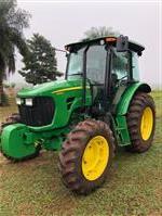 Trator John Deere 5085 4x4 ano 18
