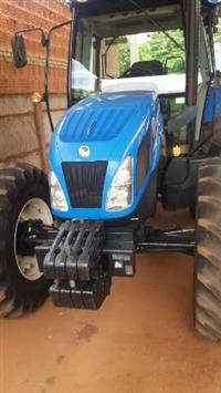 Trator New Holland TL 95 E 4x4 ano 15