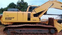 Escavadeira Komatsu Pc 200 AVANCE CL