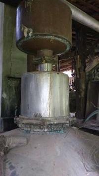 Alambique usado capacidade 1200 caldo /200 litros cachaça