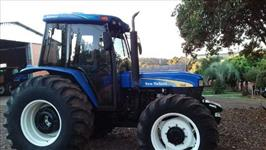 Trator New Holland 7630 4x4 ano 13