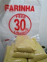 Farinha Pura de Mandioca.