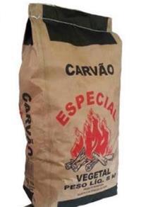 Carvao 100% eucalipto - Granel ou empacotado.