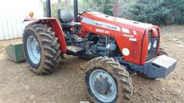 Trator Massey Ferguson 250 XE 4x4 ano 10