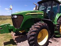 Trator John Deere 7815 4x4 ano 08