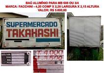 BAÚ ALUMÍNIO PARA MB 608 OU 3/4