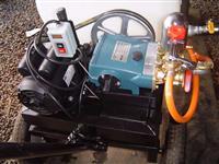 Pulverizador 200 litros Elétrico 3 HP, Bomba HS30 27 lpm