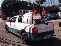 Pulverizador 600 Estacionário, Gasolina 5,5 HP-4T, Bomba HS-30-27 Litros p/min