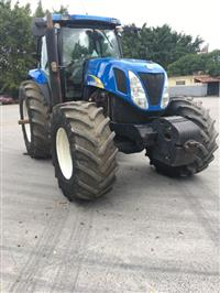 Trator New Holland T 7040 4x4 ano 08