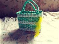 Bolsas feitas de palha de milho