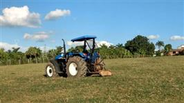 Trator New Holland TS 120 4x4 ano 04