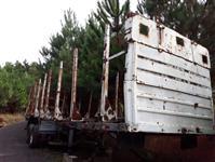 Outros Caminhão CARRETA FLORESTAL - GUERRA 3 EIXOS ano 87