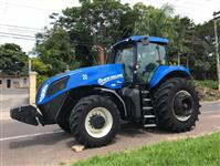 Trator New Holland T8.385 4x4 ano 12