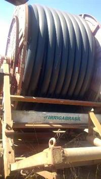 Carretel 110 mm Irrigabrasil turbo max 330metros de mangueira