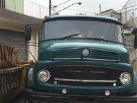 Caminhão Mercedes Benz (MB) Poli guindaste simples ca ano 68