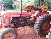 Trator Massey Ferguson 55 X 4x4 ano 74