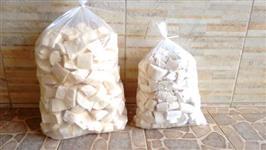 Mandioca Descascada e Embalada a Vácuo