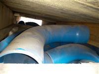 Conexões para tubo de irrigação
