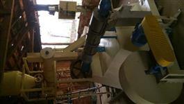 Peletizadora de Ração calibras 125 cv / Extrusora de Ração