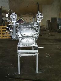 Compressor Sabroe 8.65 Amônia recondicionado, usado.