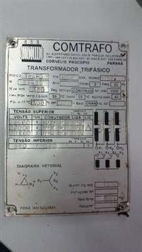 TRANSFORMADOR TRIFÁSICO A ÓLEO 1500KVA NBR 5356 CLASSE 15