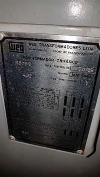 TRANSFORMADOR WEG 225 KWA