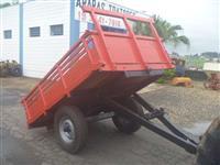 Carreta agrícola 2 rodas basculante