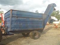 Carreta Bin 4 rodas com acionamento hidráulico para 5000 kilos