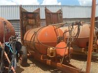 Pulverizador 4000 litros marca Natali
