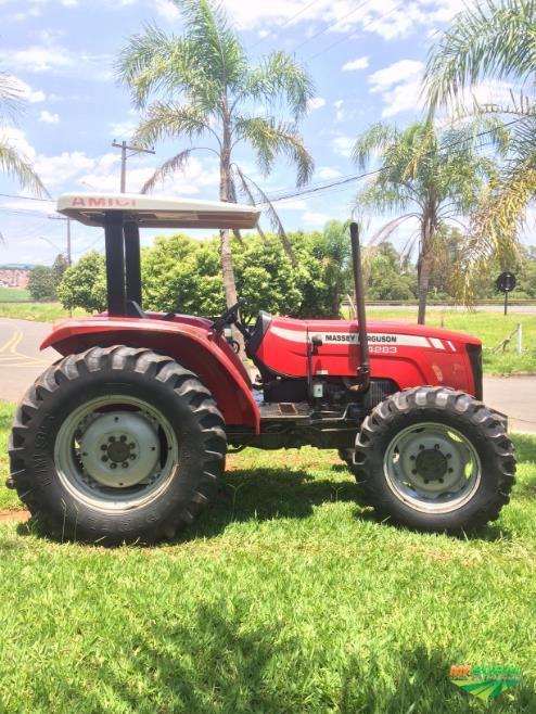 Trator Massey Ferguson 4283 4x4 ano 10