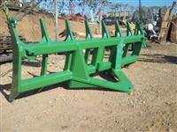 Escarificador de solo dianteiro para conjunto de lamina Tatu ou Baldan