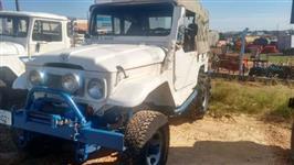 Jeep Toyota Bandeirantes 4x4 ano 1964, motor  MB 608 turbo