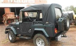 Jeep Willys ano 1975 GPM 1125, 6 cilindros