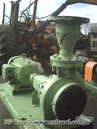 Bomba Hero mod.H80c com motor weg de 15cv, 1740 RPM, entrada de 8