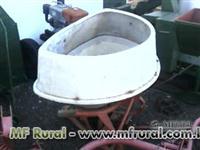 Semeadeira/Adubadeira Vicon 600 kg pendular
