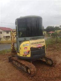 serviço de miniescavadeira, escavadeira, retorescavadeira, caçamba, R$ 100,00