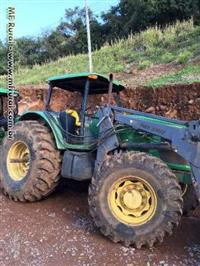 Trator John Deere 7515 4x4 ano 08