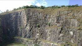 Pedreira pedra Brita , estado de São Paulo