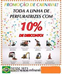 TODAS AS PERFURATRIZES COM 10% DE DESCONTO!