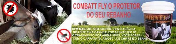 COMBATT FLY 3X1 - COMBATE A MOSCA DE CHIFRE, CARRAPATO E BERNE NO COCHO