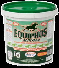 EQUIPHOS ADITIVADO: SUPLEMENTO VITAMÍNICO MINERAL AMINOÁCIDO PARA EQUINOS / BALDE 4KG