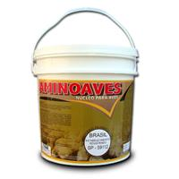 AMINOAVES – É um núcleo mineral vitamínico aminoácido, para mistura, destinado às Aves.