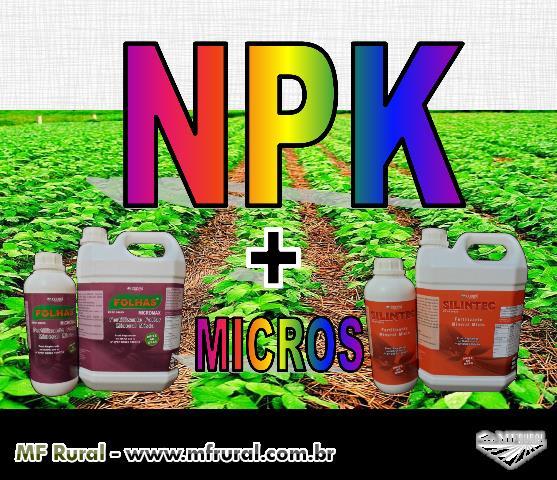 NPK + micronutrientes