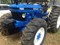 Trator Ford/New Holland 7630 4x4 ano 95