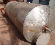 Tanque misturador inox 304 volume 5000 litros, motor de 5 CV