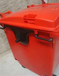 Lixeira / Container 1100L - Com Rodas e tampa