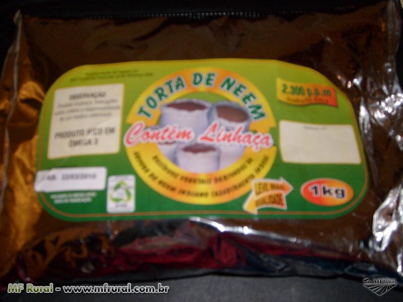 TORTA DE NEEM - PRODUTO DIRETO DA FABRICA ORGÂNICO