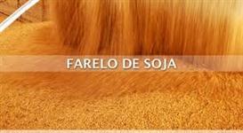 Farelo de soja ensacado ou a granel