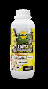 Cola Entomológica Amarela - Yellow Glue 1L - Jardinagem, Estufa, Fruticultura, Granja, Viveiro, etc